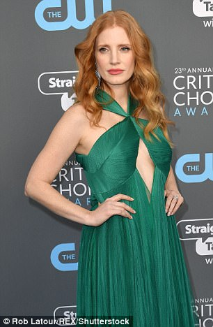 Jessica Chastain urged people not to watch the speech at all.