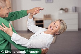 Elderly people are advised to take up tango and ballroom dancing to cut the risk of falling and injuring themselves