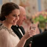 Pregnant Kate Middleton Stuns In Alexander McQueen for a gala in Norway