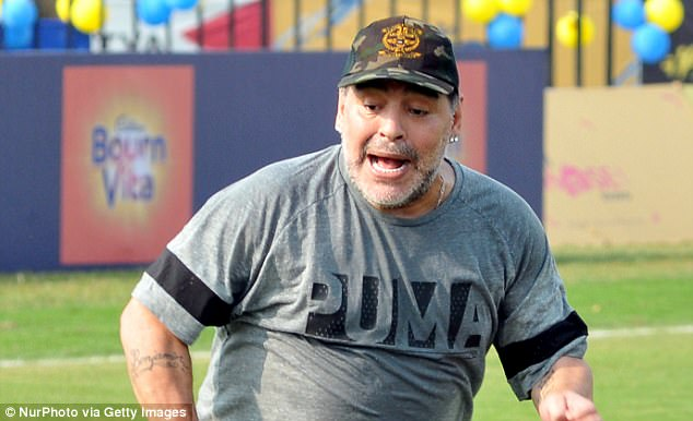 Diego Maradona has been denied entry to the United States after insulting Donald Trump