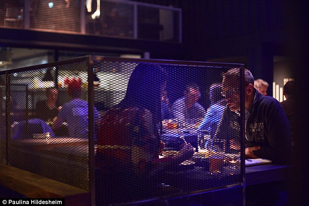 9 cool  quirky and unusual restaurants in Berlin   Daily Mail Online BRLO Brwhouse s sharing menus gives guests the chance to taste a multitude  of awesome dishes