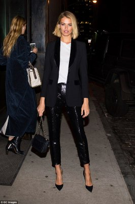 Model Affair: Lily Aldridge,Nina Agdal and Jourdan Dunn's style in New York
