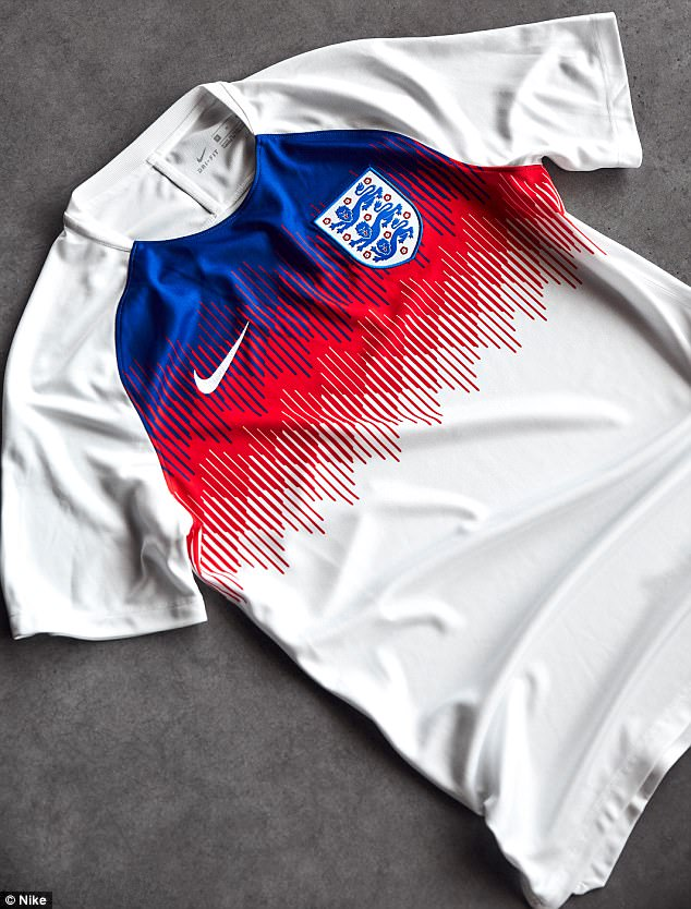 The Nike-designed pre-match shirt will be worn by the players during warm-ups