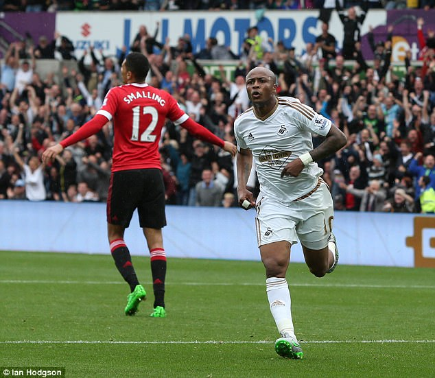 Ayew scored 12 goals in 35 appearances for Swansea during his first spell in 2015-16