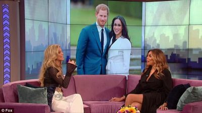 Tell all:Meghan came up in conversation on Wednesday as Wendy was speaking to her guest, the former 90210 star AnnaLynne McCord