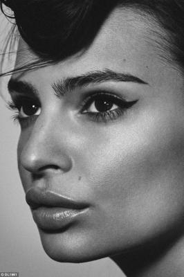 Emily Ratajkowski Goes Topless for DL1961 Campaign