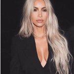 Kim Kardashian Reveals Her reason for dyeing her hair