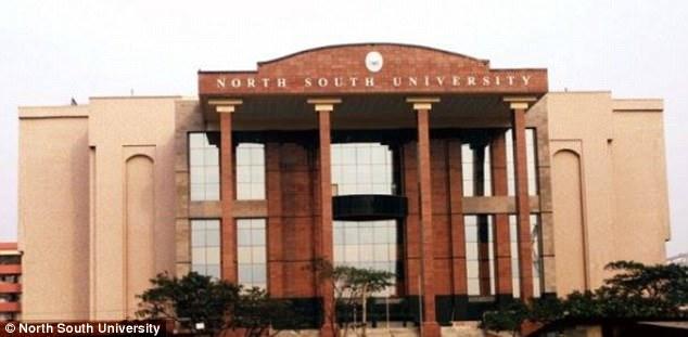 Shoma asistió a la Universidad del Norte del Sur (en la imagen) hasta finales de 2017, la misma institución donde un grupo de hombres vinculados al peor acto terrorista de Bangladesh fueron estudiantes