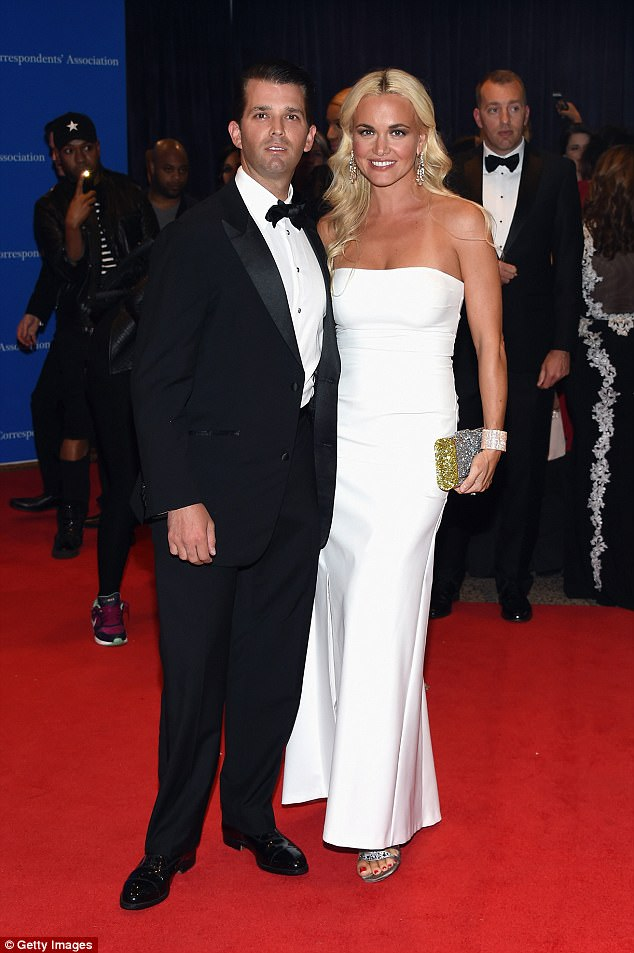 Image Result For White Powder Vanessa Trump Wife Of Donald Trump Jr