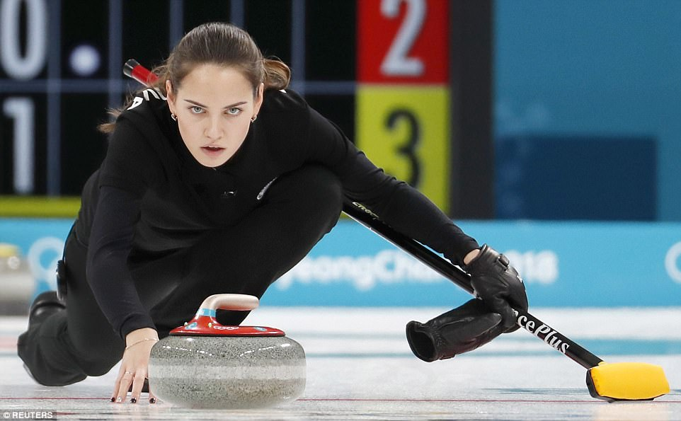 Hasil gambar untuk U.S. Curling Team Beats Russian Athletes To Kick Off Pyeongchang Olympics