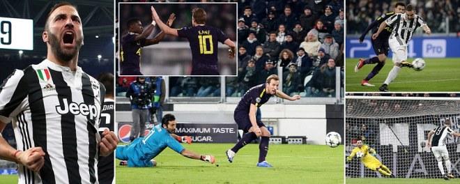 Juventus vs Tottenham LIVE score: Champions League last 16