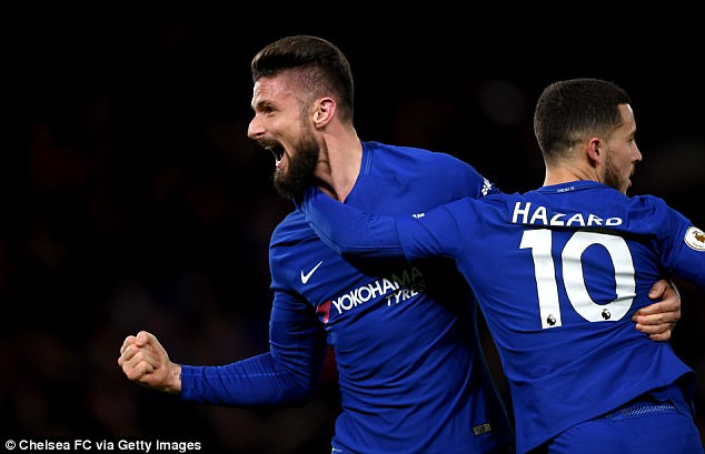 France international Olivier Giroud has admitted that Chelsea was the 'perfect club' for him