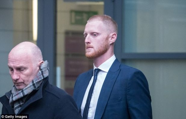 Ben Stokes indicated a plead of not guilty to a charge of affray at Bristol magistrates' court