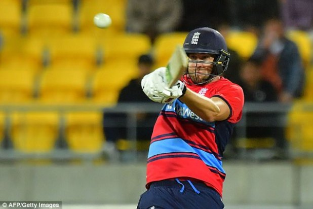 Dawid Malan hit his third fifty in four T20 matches for England in the defeat in Wellington
