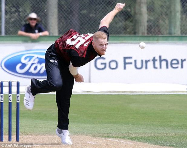 He is set to join up with his England team-mates on their T20 tri-series in New Zealand