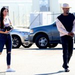 Jamie Foxx Spotted Having Lunch With Baby mama