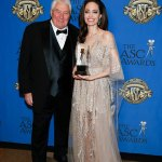Angelina Jolie Receives Board of Governors Award at the ASC Awards