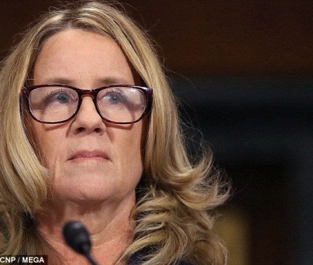 Outed Christine Blasey Ford Testified To Senators That She Never Wanted The Allegations She Was
