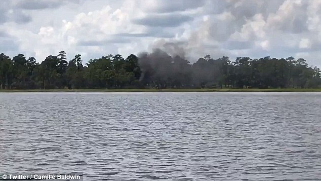 The aircraft was completely destroyed in the crash during a training exercise. Now the Air Force, Navy, and Marine Corps will all stop flying their F-35 jets while they're inspected