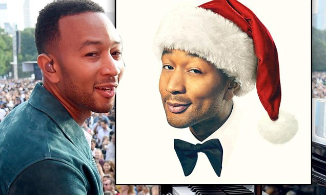 john legend announces the release of his very first holiday album legendary christmas and new tour in sweet video with his family - John Legend Christmas Album