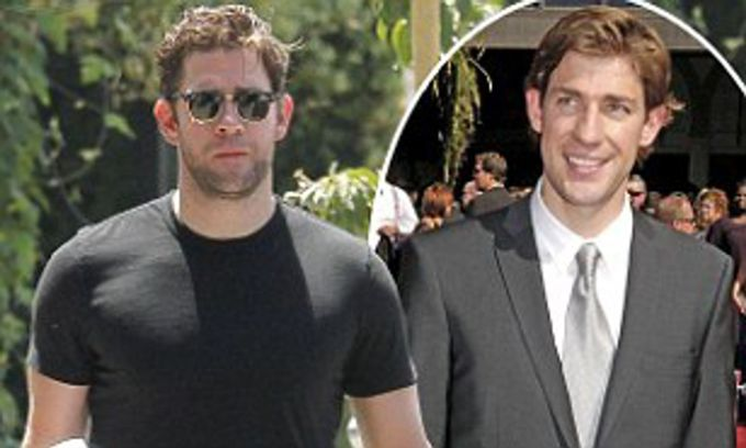 john krasinski unveils his muscular new physique | daily