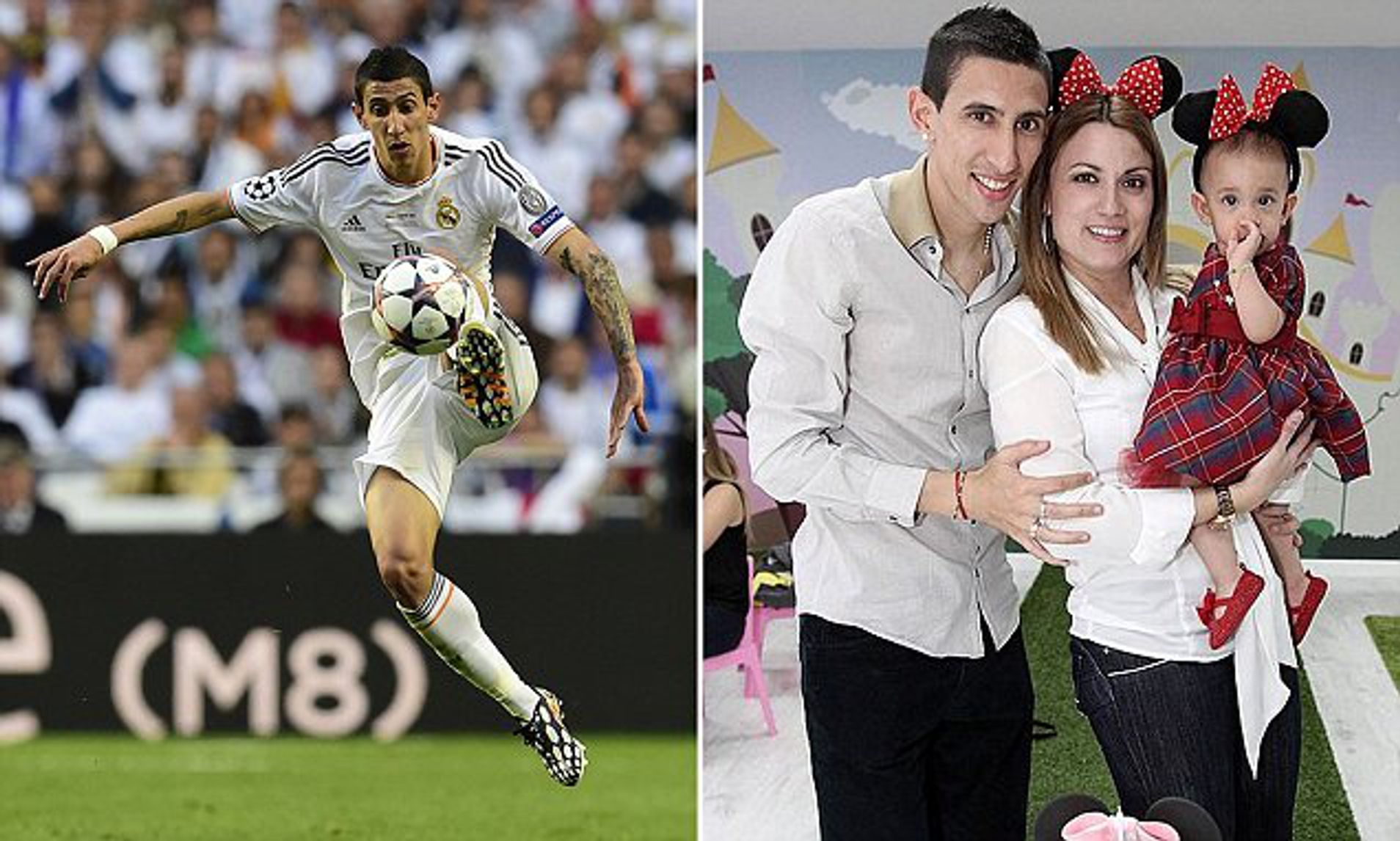 angel di maria puts real madrid form