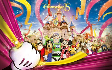 Image result for disneyland paris 15th anniversary