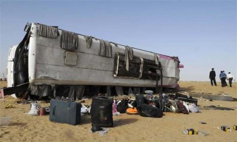 ترافیکي پيښه - مصر