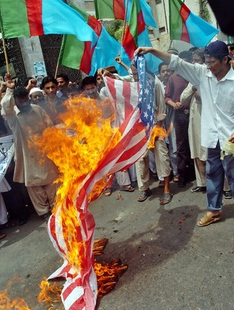 After the end of the Cold War, Pakistan's Jamat-i-Islami began to mimic the radical anti-US and populist lingo and symbolism.