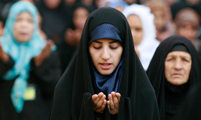 The debate about the need for interpreting Islam from a woman's perspective continues. —Photo by AP