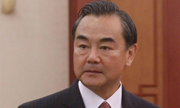 Chinese Foreign Minister Wang Yi. ─AFP/File