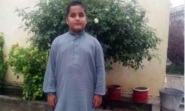 A photo of the deceased boy, Haroon.— Photo courtesy of the family