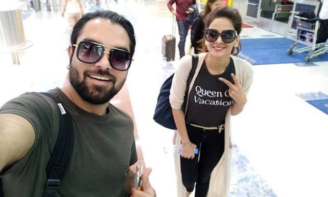Image result for airport swag photos by pakistani tv stars