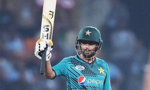 Man of the Match Babar Azam left the pitch with 86 runs under his belt. ─ Photo courtesy ICC official Twitter