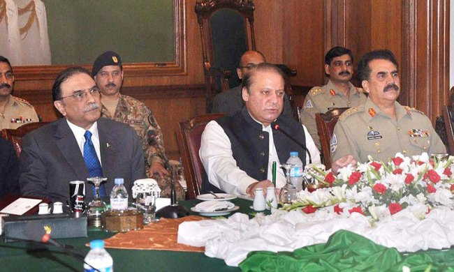 Military, political leadership to supervise Karachi operation: PM - Pakistan  - DAWN.COM