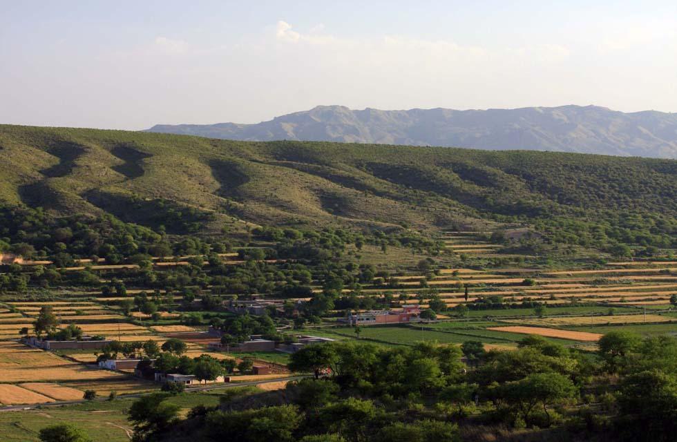 Soon Sakesar Valley, Punjab. Photo by Salman Rashid