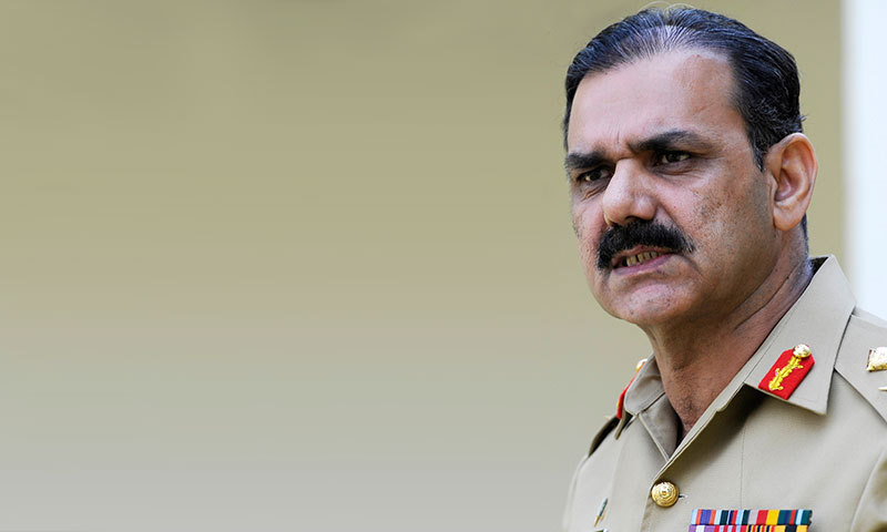 DG ISPR Major General Asim Bajwa. — Flie photo