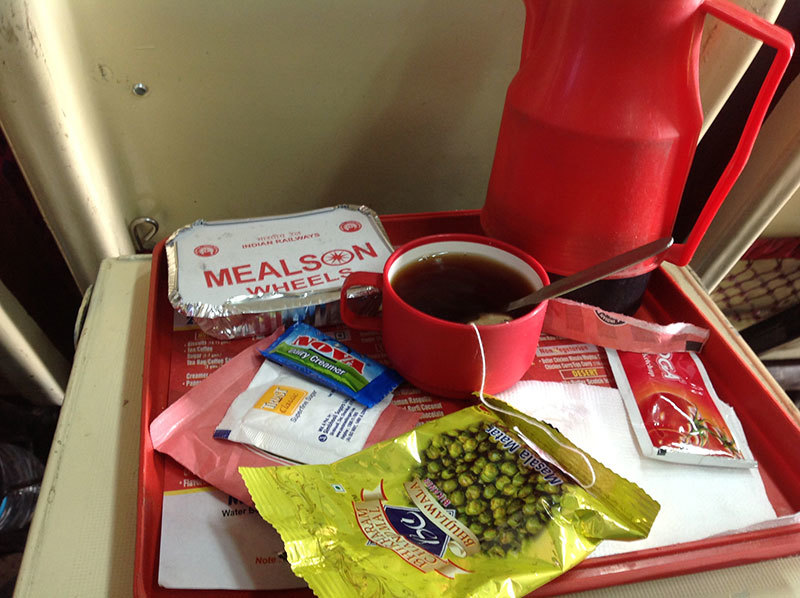 Unlike in Pakistan, where one has to wait until Multan to savour the Multani Sohan Halwa, in India, assorted items reach you directly without you moving an inch from your seat.