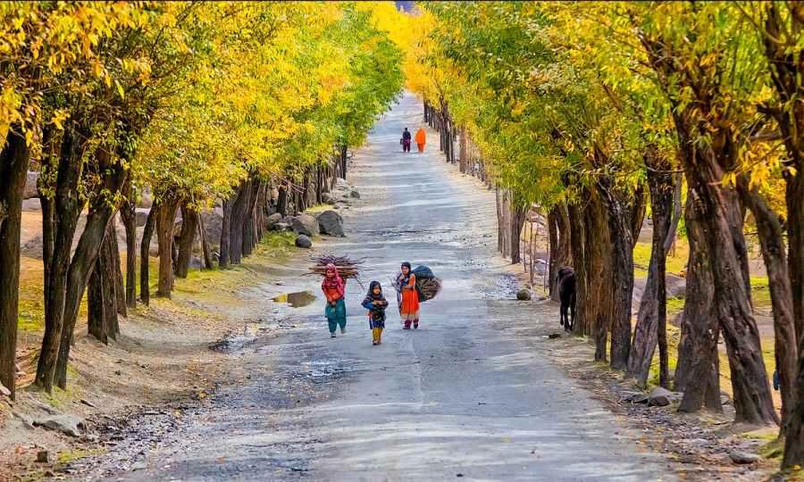 Road to Skardu. — S.M.Bukhari