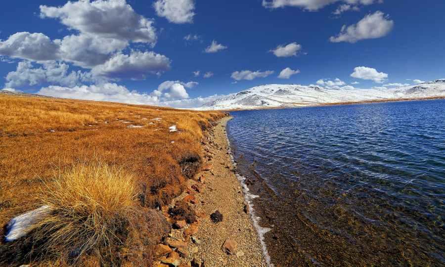 Edge of Sheshar Lake