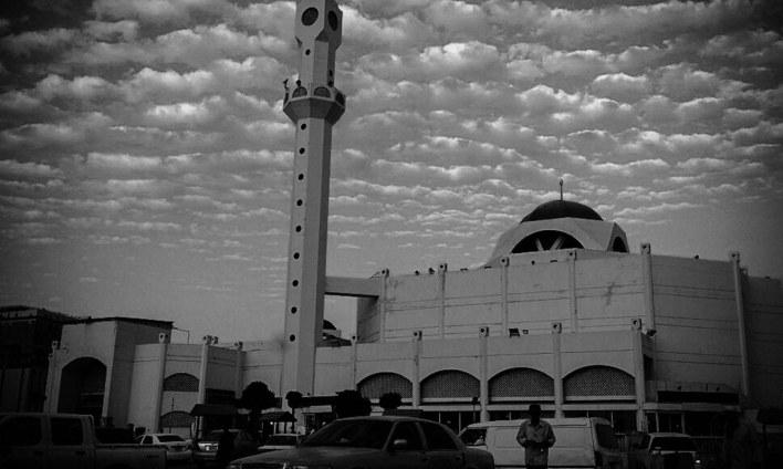 مدینہ منورہ کی ایک تاریخی مسجد۔
