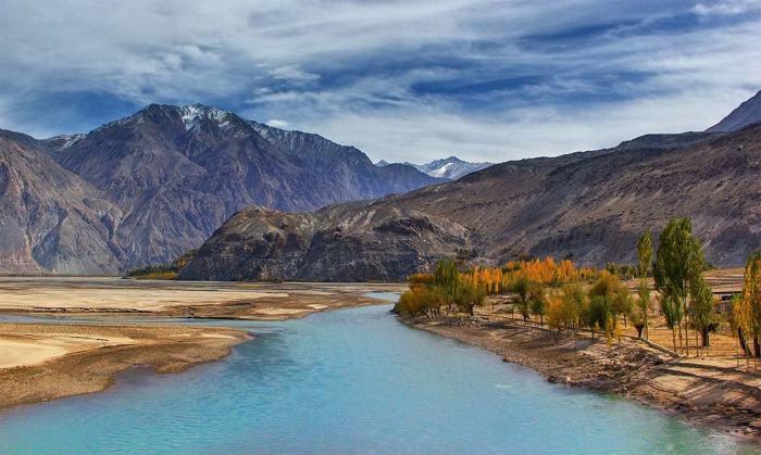 Shyok river — S.M.Bukhari