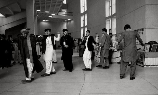 Some believe the dance has spiritual roots, while others link it to the Pashtun resistance movement. —Photo by the author