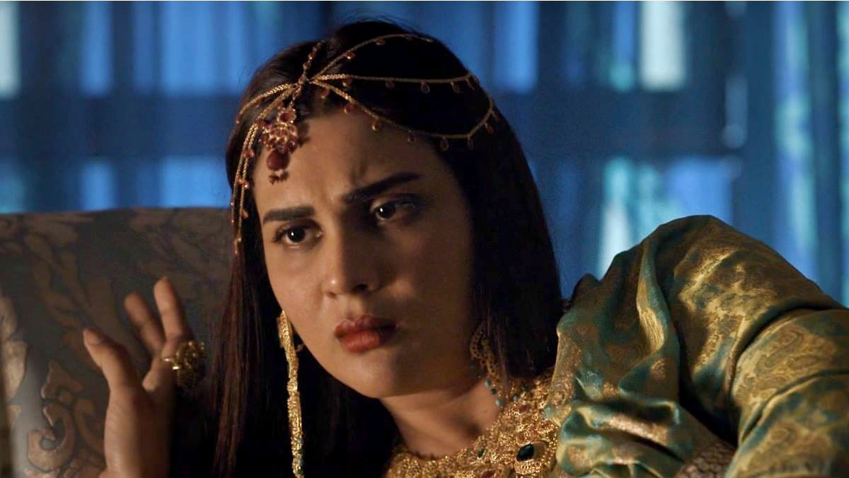 Fiza Ali as the second wife of the Nawab