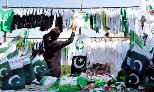 Image result for august 14 preparation pakistan