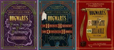 The trio is titled *Pottermore Presents*