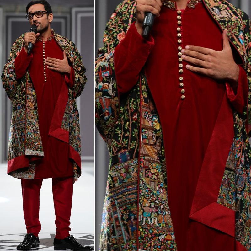 Nida Azwer's collection at Fashion Week 2016. Photo: Moovie Shoovy.