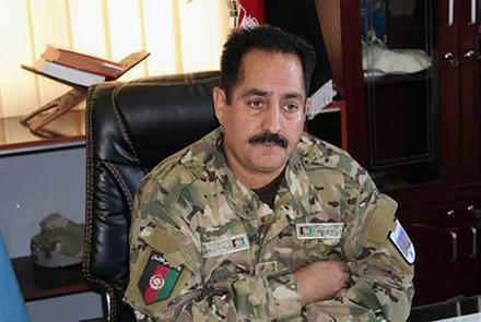 Toryalai Abdyani, the police chief for Paktia province, was killed in Tuesday morning's suicide bombing in Gardez City.—Photo courtesy ToloNews