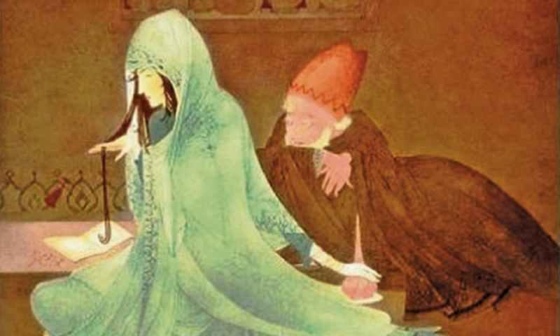 عبدالرحمن چغتائی کی پینٹنگ