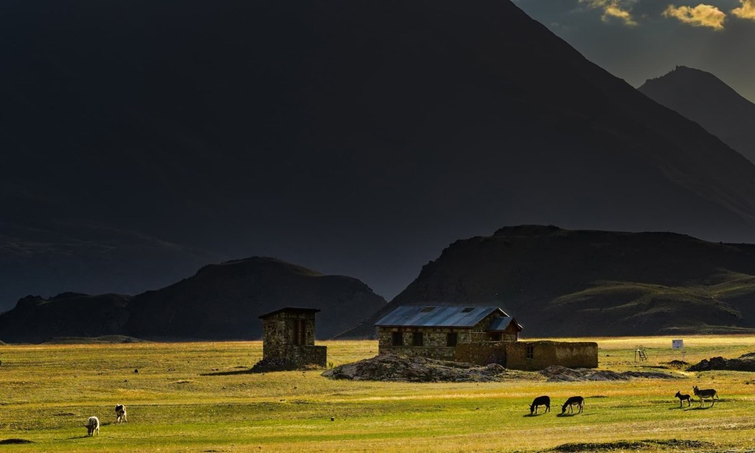 Lashkargaz Village. — *Photo by author*